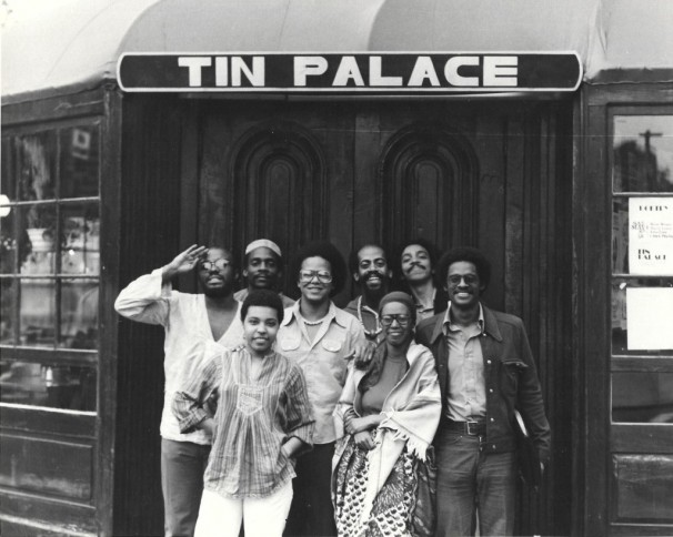 Outside the Tin Palace: A photograph, 1976 by Patricia Spears Jones